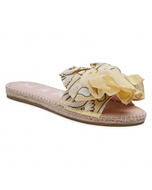 Espadryle MANEBI - Sandals With Bow G 5.7 J0 Sweet Yellow