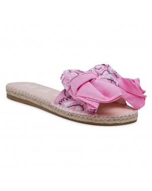 Espadryle MANEBI - Sandals With Bow G 5.8 J0 Blush
