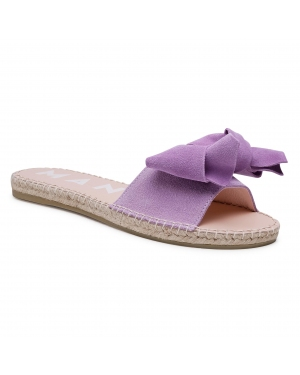 Espadryle MANEBI - Sadals With Bow M 3.8 J0 Lilac