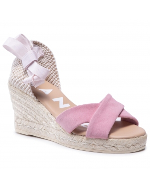 Espadryle MANEBI - X Low Wedges M 1.4 Wx Pastel Rose