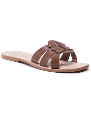 Klapki MANEBI - Leather Sandals S 5.1 Y0 Cuero