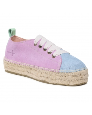 Espadryle MANEBI - Sneakers D G 2.5 E0 Lilac/Placid Blue/Sweet Yellow
