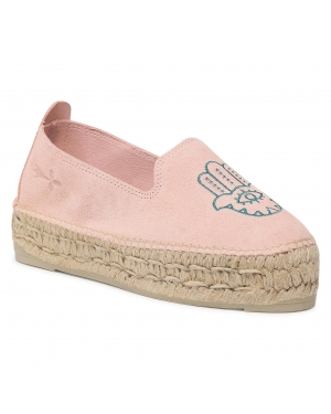 Espadryle MANEBI - Slippers D G 7.0 D0 Paste Rose/Mint Fatima