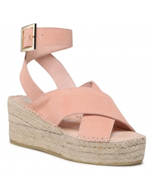 Espadryle MANEBI - Wedges W Belt W 1.4 Wb Pastel Rose