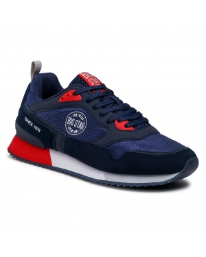 Sneakersy BIG STAR - HH174240  Navy
