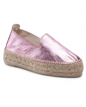 Espadryle MANEBI - Slippers D R 1.3 D0 Rose Metallic