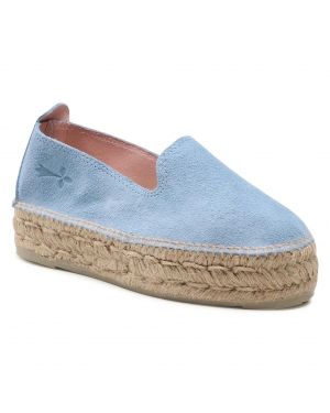 Espadryle MANEBI - Sandals With Bow M 3.0 J0 Placid Blue