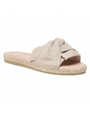 Espadryle MANEBI - Sandals With Knot O 4.1 Jk Natural Organic