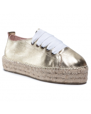 Espadryle MANEBI - Sneakers D R 1.1 E0 Gold Metallic