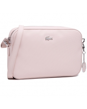 Torebka LACOSTE - Square Crossover Bag NF2771DC Rose Dust G33