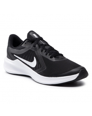Buty NIKE - Downshifter 10 (Gs) CJ2066 004 Black/White/Anthracite