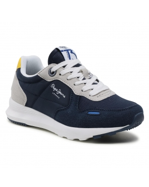 Sneakersy PEPE JEANS - York Basic Boy PBS30484 Navy 595