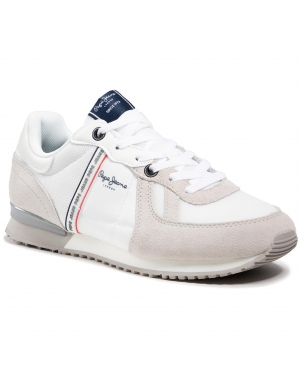 Sneakersy PEPE JEANS - Tinker Zero 21 PMS30725 Factory White 801