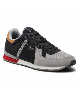 Sneakersy PEPE JEANS - Tinker Zero 21 PMS30725 Grey 945