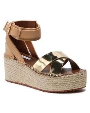 Espadryle PEPE JEANS - Witney Collar PLS90489 Gold 099