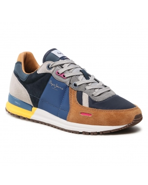 Sneakersy PEPE JEANS - Tinker Pro 309 PMS30732  Cognac 879