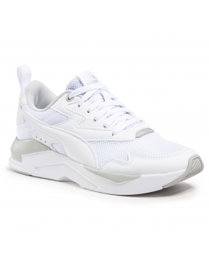 Sneakersy PUMA - X-Ray Lite Jr 374393 02 White/White/Gray/Silver