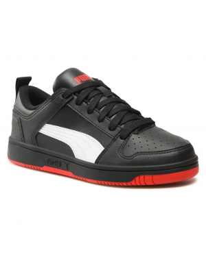 Sneakersy PUMA - Rebound Layup Lo Sl Jr 370490 13 Black/White/High Risk Red