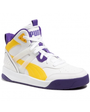 Sneakersy PUMA - Backcourt Mid 374139 07 Puma White/Dandelion/Violet
