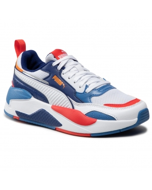 Sneakersy PUMA - X-Ray 2 Square Jr 374190 06 White/White/Orange/Red