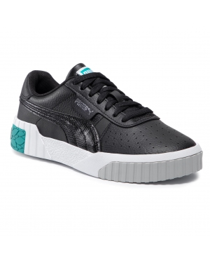 Sneakersy PUMA - Cali Jr 373155 02 Puma Black/Viridian Green