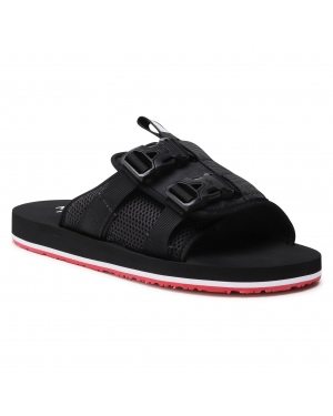Klapki THE NORTH FACE - Men's Eqbc Slide NF0A46B3TJ2 Tnf Black/Fiery Red
