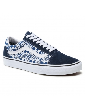 Tenisówki VANS - Old Skool VN0A3WKT4QA1 (Off The Wall) Drsbls/Trbl