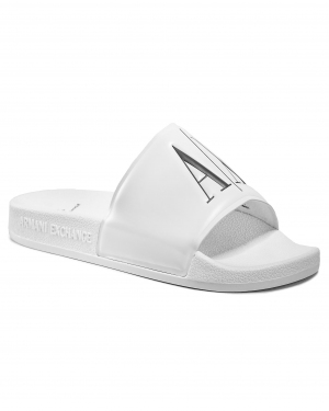 Klapki ARMANI EXCHANGE - XUP004 XV231 00152 Op.White