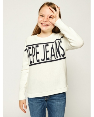 Pepe Jeans Sweter Vivian PG700895 Beżowy Regular Fit