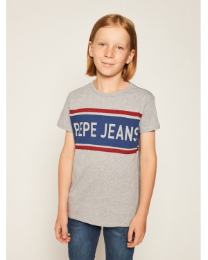 Pepe Jeans T-Shirt Talton PB502689 Szary Regular Fit