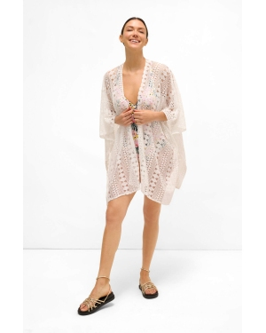 Klapki INUIKII - Slipper Glitter Wedge 70104-22-W Purple