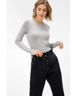 Trekkingi ELBRUS - Condis Mid Wp Middle Grey/Turquoise/Light Lime
